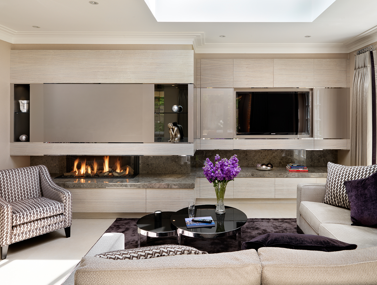 design for a stylish entertaining space for a Surrey property